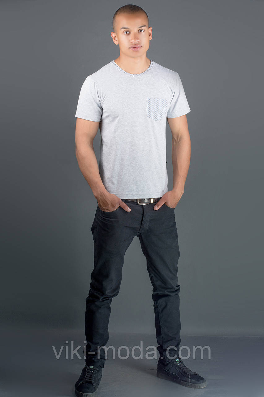 Мужская футболка Жерар 2 (серый)
