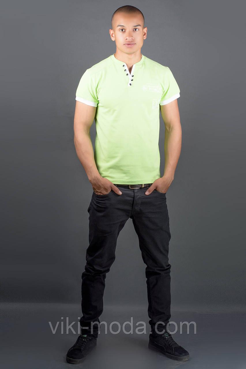 Мужская футболка Жорж (салатовый)
