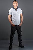 Мужская футболка Принт (серый), фото 1