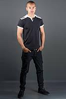 Мужская футболка Рональдо (черный), фото 1
