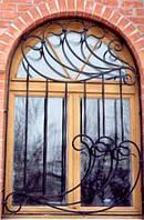 Кованная решетка на окна, фото 1