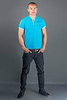 Мужская футболка Систем (бирюза), фото 1