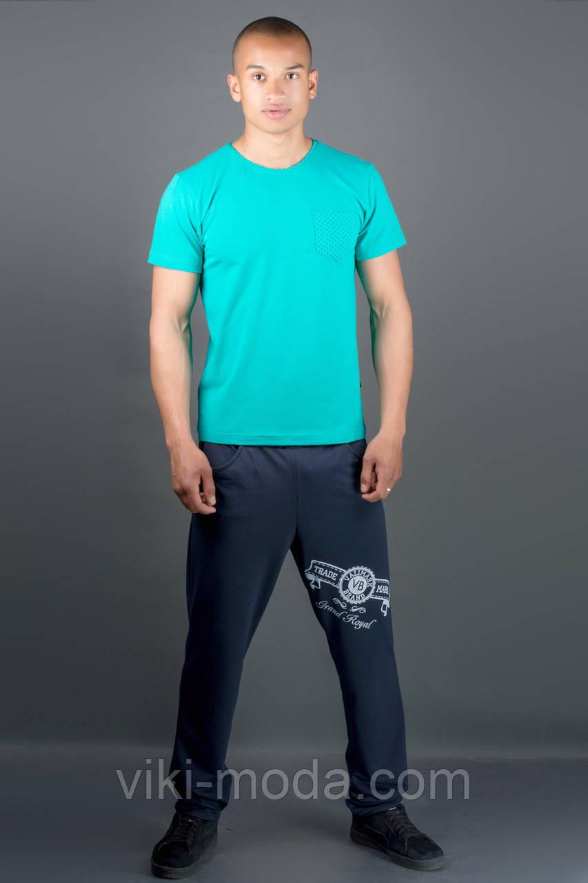 Мужские спортивные штаны Шерон (синий)