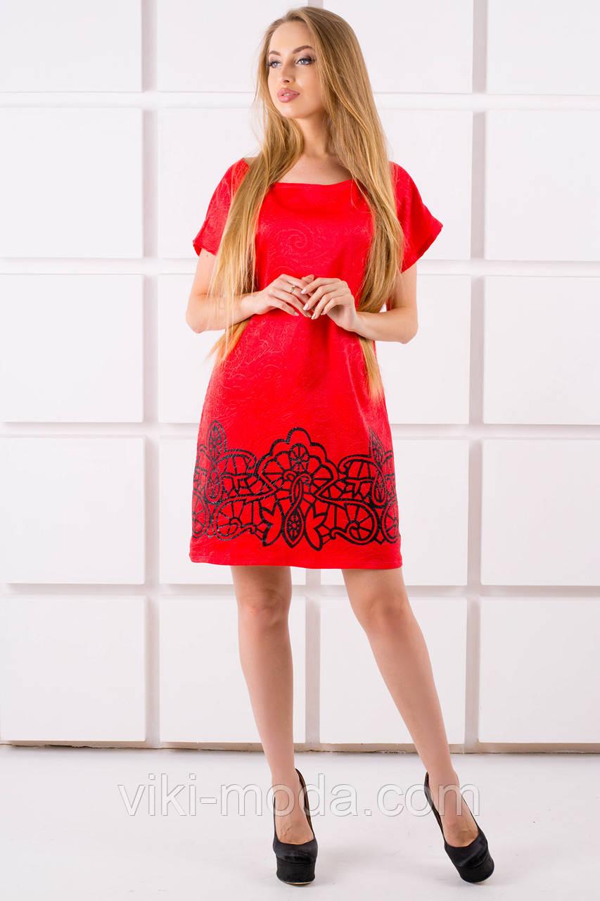 Платье Майли (красный)