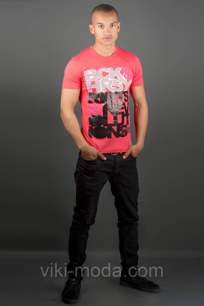 Мужская футболка Йонес (красный)