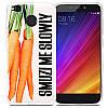 Силиконовый чехол-бампер Xiaomi (Cяоми) Redmi 4X (Морковь)