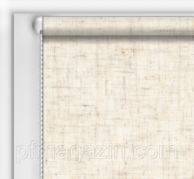 Рулонная штора Лён (730х1600)