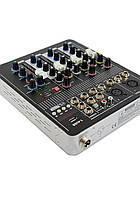 Аудио микшер Mixer BT4000 4ch.+BT