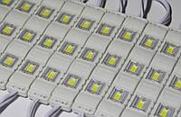 Ленты 12V 5630 3-led lens module warm white