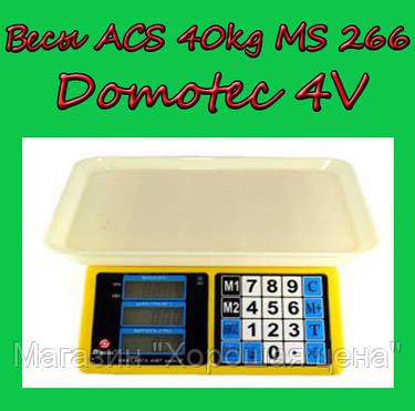 Весы ACS 40kg/5g MS 266 Domotec 4V, фото 2