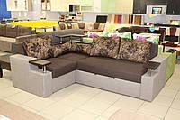 Угловой диван 15-1-6-7 с журнальным столиком