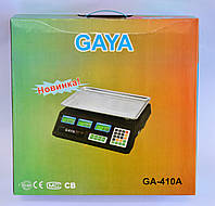 Весы торговые 40кг Gaya G410A