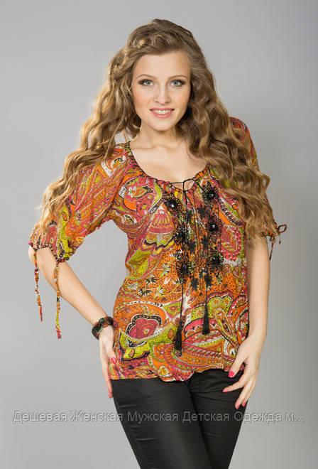 Жіноча блузка літо індія мікс кольорів
