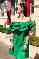 Летнее платье с открытыми  Цвета 7716 КК, фото 1