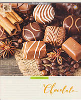 "Тетради 48 л. клетка ""Шоколад"""
