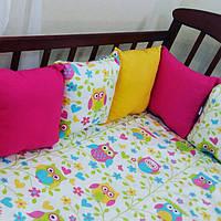 Бортики-защита в детскую кроватку