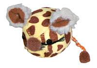 Мышка-мячик Trixie Mouse Balls для кошек плюшевая, 4.5 см, фото 1
