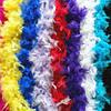 Боа и шарфы из перьев и пуха