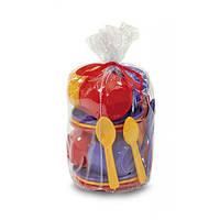 Детский набор игрушечной посуды  0163 Юніка