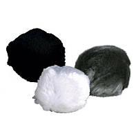 Мячик Trixie Plush Ball для кошек меховой звенящий, 3 см