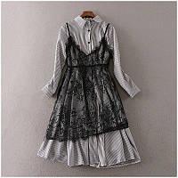 Хлопковые платья-рубашки