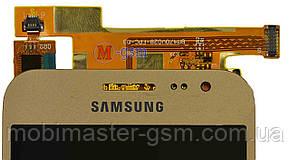 Lcd модуль Samsung J200F Galaxy J2, J200G, J200H, J200Y золотистый , фото 2