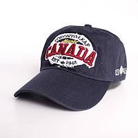 Стильная фирменная кепка Canada- №2430, Цвет синий
