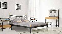 Кровать металлическая Луиза полуторная