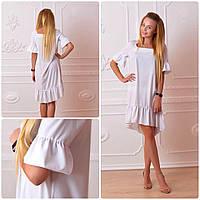 Платье 789 белый, фото 1