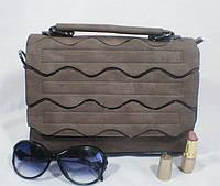 Изящная каркасная женская сумка-клатч для девушки
