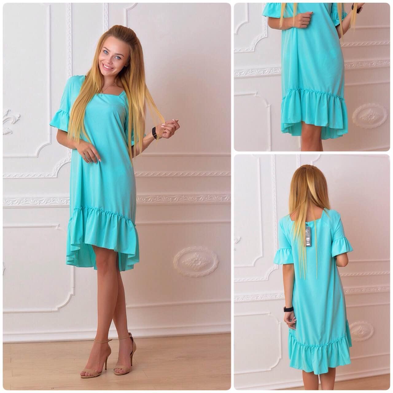 Платье 789 ментол