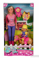 Кукольный набор Simba Steffi и Evi Уроки верховой езды (573 8051)