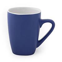 Керамическая чашка PAOLA Синяя, чашка с логотипом