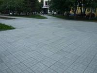 "Тротуарная плитка ""Паркет"" 45мм"