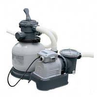 Intex Фильтр-насос 28644 грубой очистки 220V 4543 л/ч (насос) 3975 л/ч (фильтр), фото 1