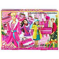 Адвент календарь аксессуара для Барби Mattel CLR43