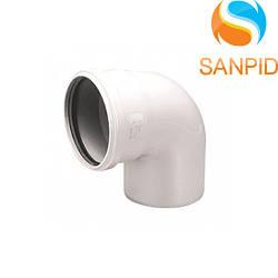 Колено для внутренней канализации Wavin 32/90°
