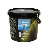 ILLUSION Aluminium - покрытие с перламутровым металлическим эффектом алюминия, 1 кг