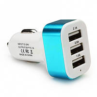 Car charger 3 USB 1A!Акция