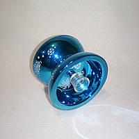 Йо-йо алюминиевое с подшипником (цвет-бирюзовый)