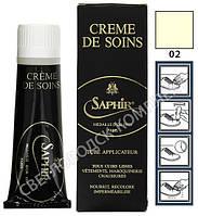 Крем Для Гладких Кож Saphir Medaille D'or Creme de Soins, цв. бесцветный (02), 75 мл