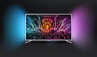 """Телевизор Philips Smart TV 43"""", LED, 4K Ultra HD, 1800 PPI,DVB-T/T2/C/S2/S, 4xHDMI, 3xUSB, Wi-Fi, 43PUS6501"""