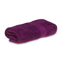 Махровое полотенце 68х125см Grange Bath 525г\м2 Сливовый