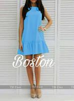 Милое коротенькое мини платье, ткань габардин. Разные цвета в ассортименте, размеры от 42 до 46.