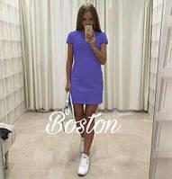 Милое коротенькое мини платье, ткань габардин. Разные цвета в ассортименте, размеры S-M., фото 1