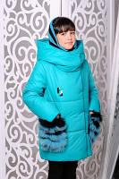 Зимова дитяча куртка утеплена, фото 1