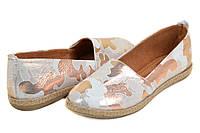 Модные женские туфли кожа