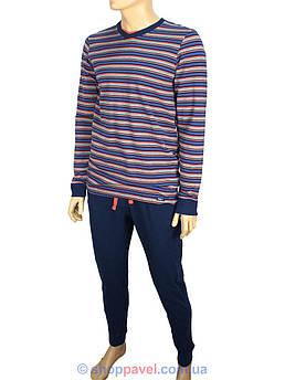 Мужская пижама Key MNS 394 B6 в полоску