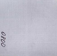 Рулонная штора Лён (680х1600). 0800.Белый