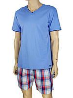 Мужская комбинированная пижама Key MNS 412 А7